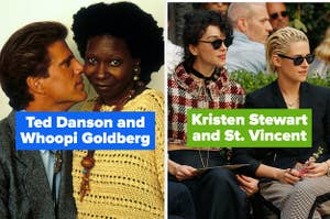 Ted Danson and Whoopi Goldberg and Kristen Stewart and St. Vincent