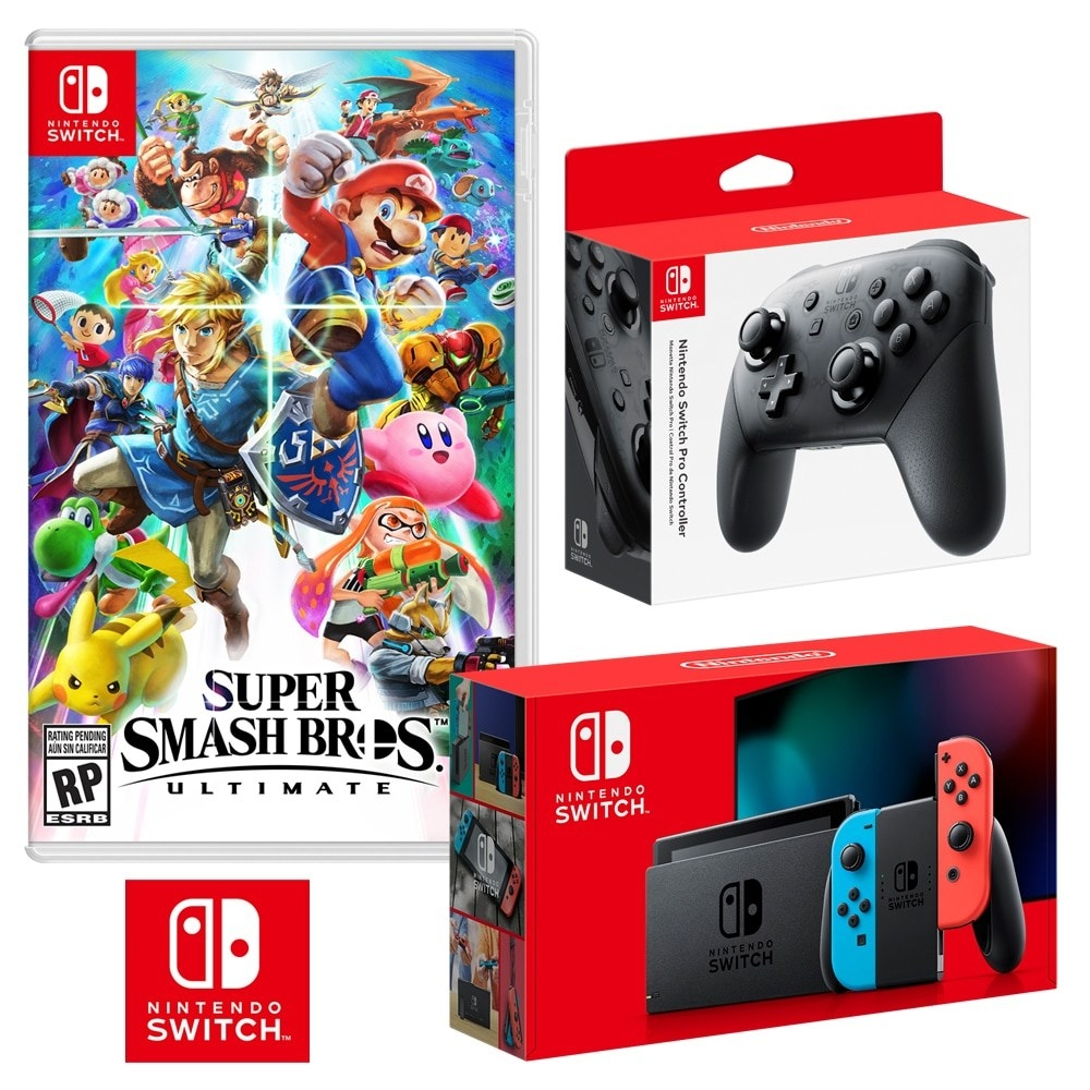 the Nintendo Switch Super Smash Bros. Ultimate Bundle