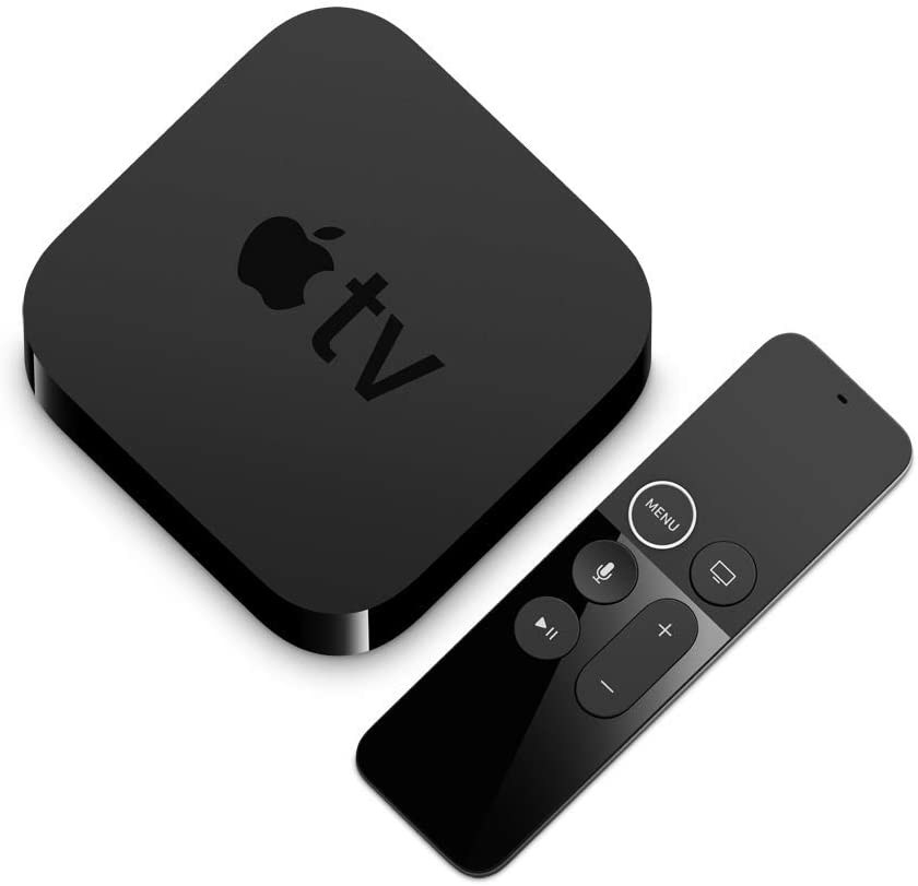 The Apple TV streaming device