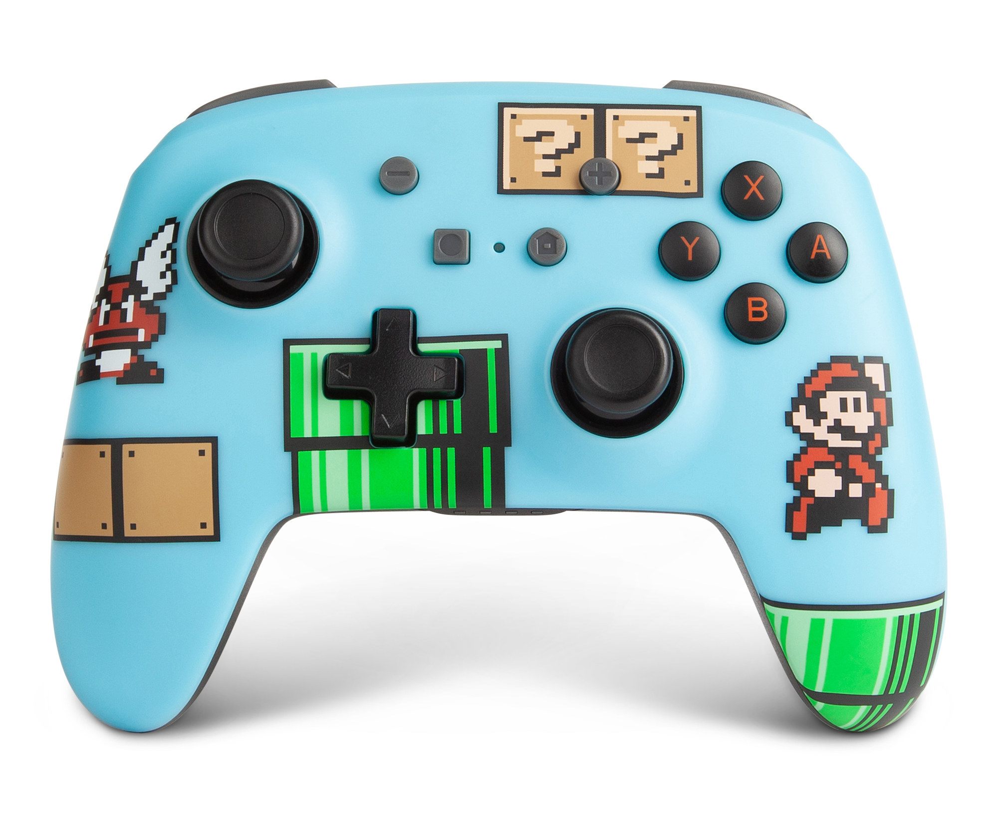 Nintendo switch controller with super mario design