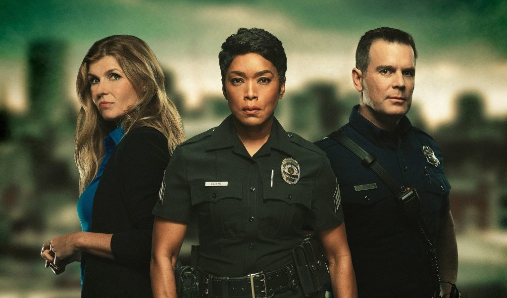 """Connie Britton, Angela Bassett, and Peter Krause of """"9-1-1"""""""