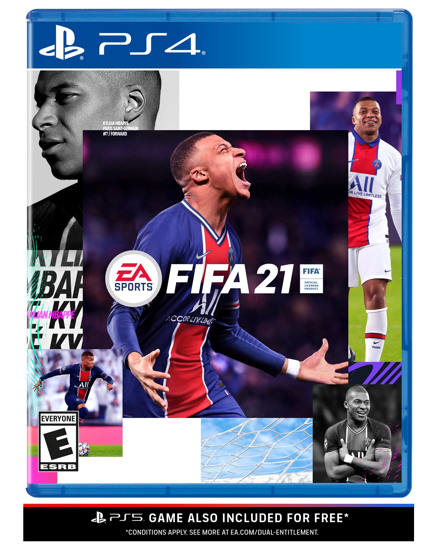 fifa 21 ps4 video game package