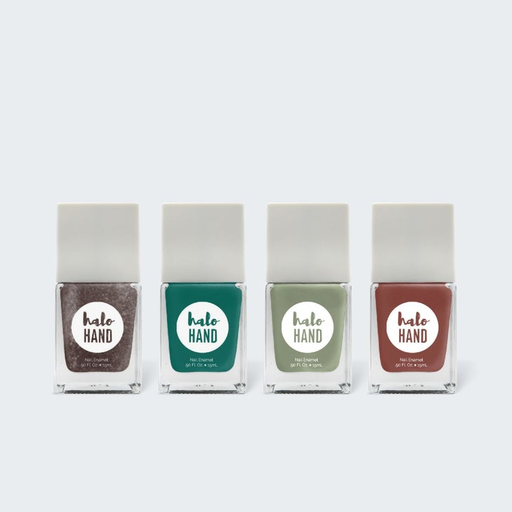 the set of four polishes