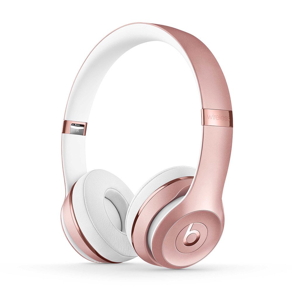 rose gold beats wireless on-ear headphones