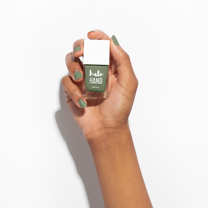the celery green shade on nails