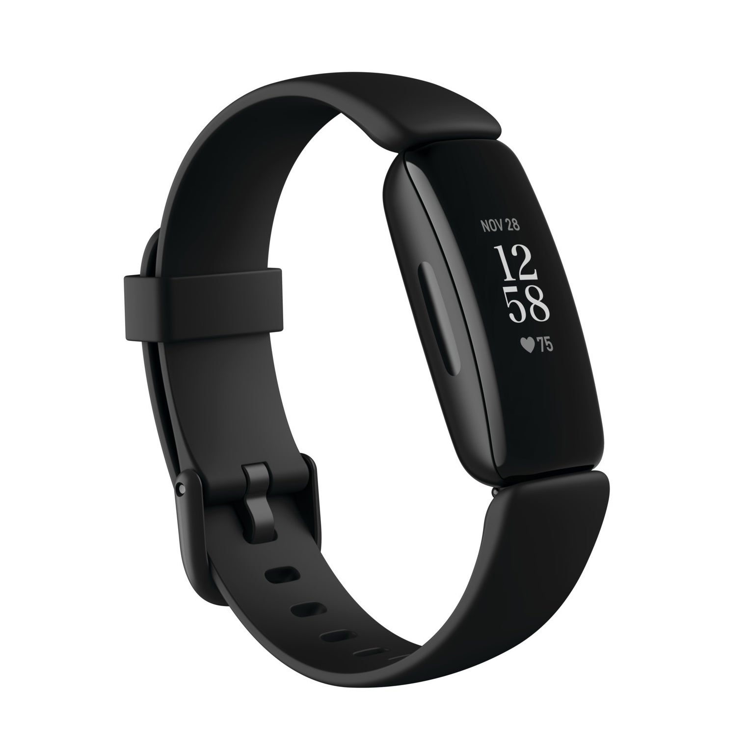 fitbit inspire 2 with a black band