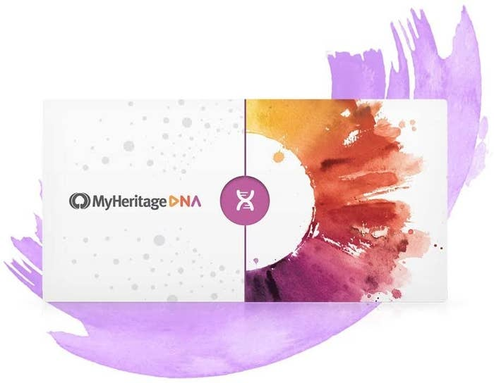 The MyHeritage DNA testing kit