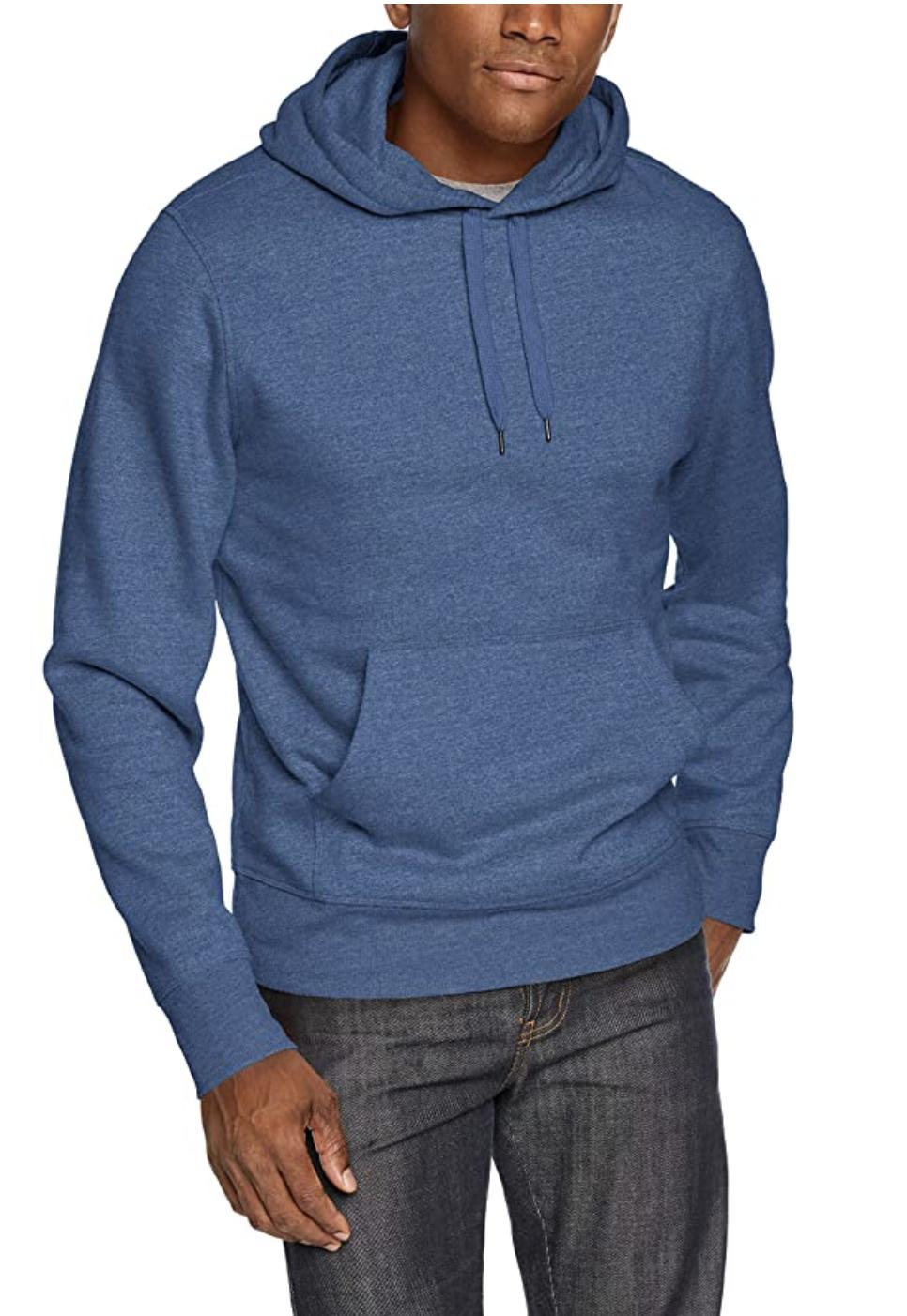 man wearing hoodie