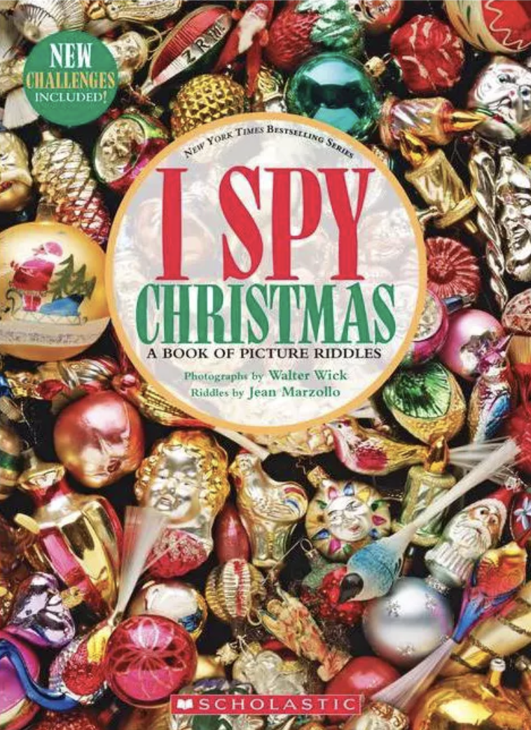 """Cover of """"I Spy Christmas"""" by Jean Marzollo"""