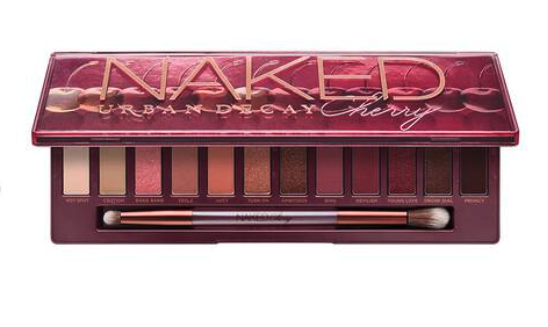 The Urban Decay cherry Naked eyeshadow palette