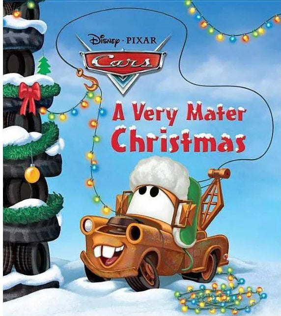 """Cover of """"A Very Mater Christmas"""" by Frank Berrios"""