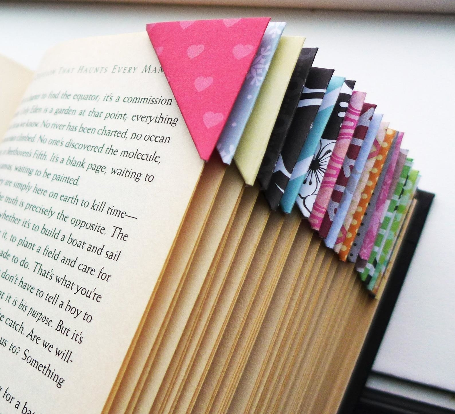 the various corner bookmarks