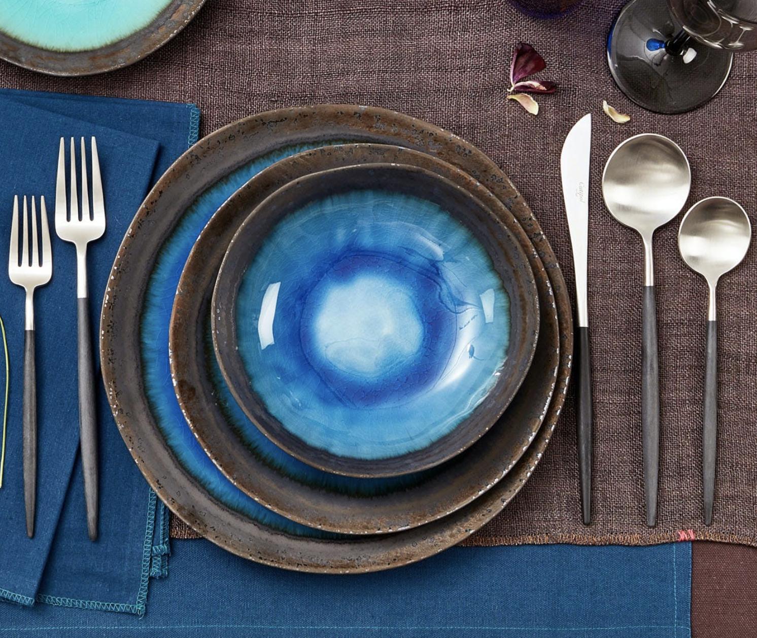 the indigo plate
