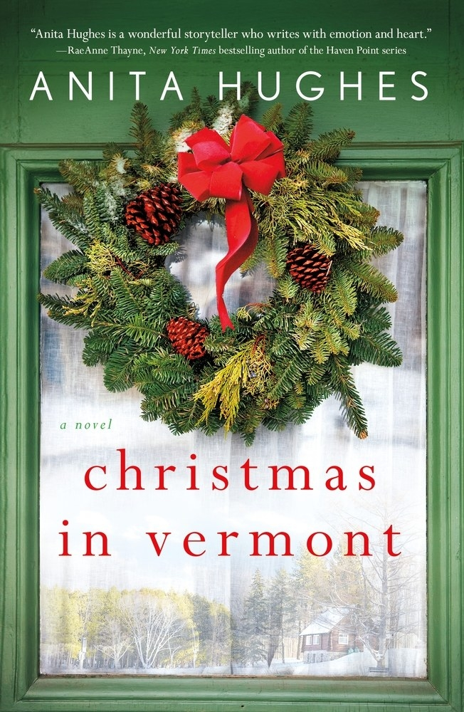 """Cover of """"Christmas in Vermont"""" by Anita Hughes"""
