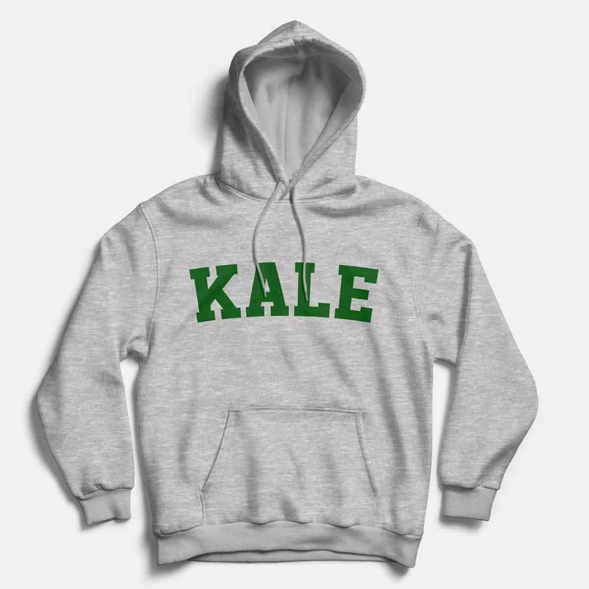 the grey kale hoodie