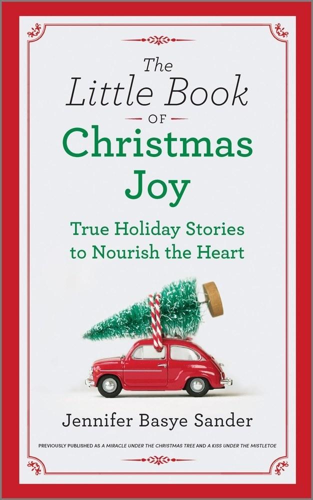 "Cover of ""The Little Book of Christmas Joy"" by Jennifer Basye Sander"