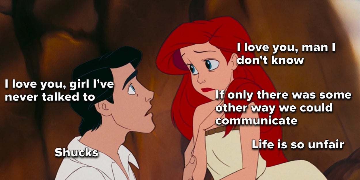"""I Rewatched """"The Little Mermaid"""" And I'm Sorry, But Ariel And Eric's Relationship Makes No Sense 