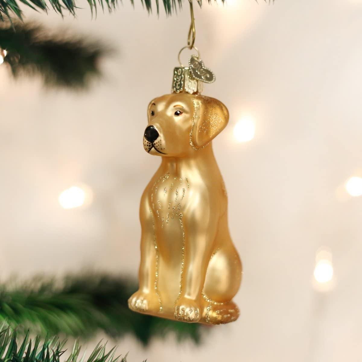 the golden ornament
