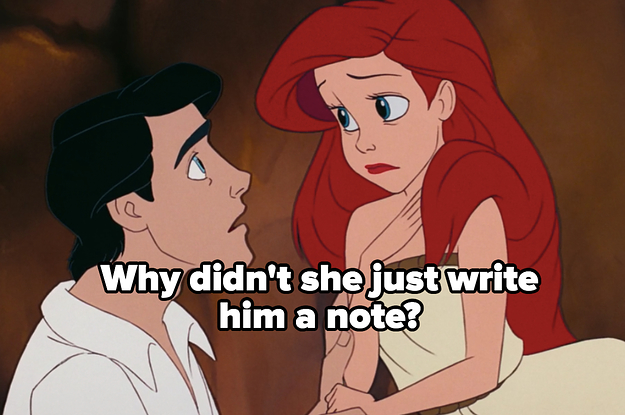 """I Rewatched """"The Little Mermaid"""" And I'm Sorry, But Ariel And Eric's Relationship Makes No Sense"""