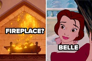 fireplace? belle