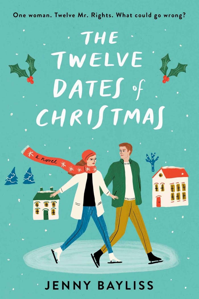 """Cover of """"The Twelve Dates of Christmas"""" by Jenny Bayliss"""