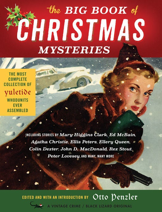 """Cover of """"The Big Book of Christmas Mysteries"""" by Otto Penzler"""