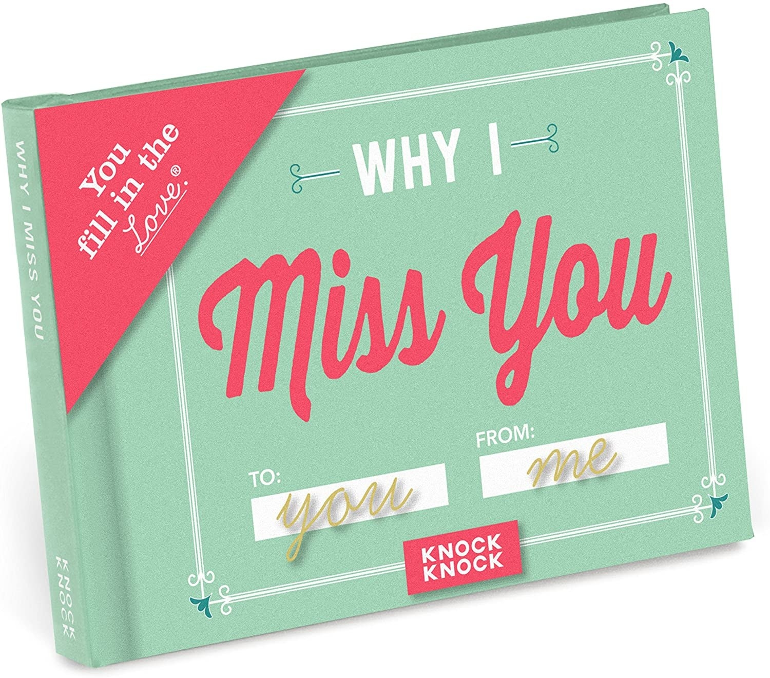 The Why I Miss You notebook