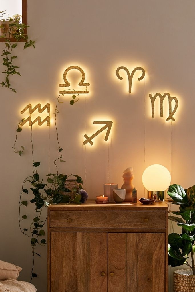 Zodiac LED sign