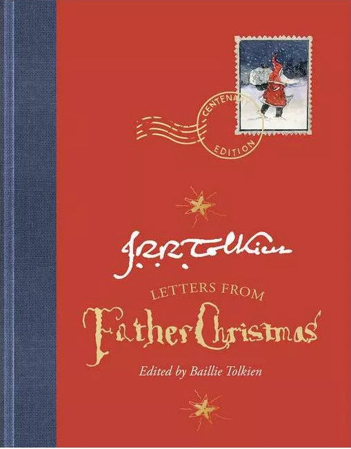 """Cover of """"Letters from Father Christmas"""" by J.R.R. Tolkien"""