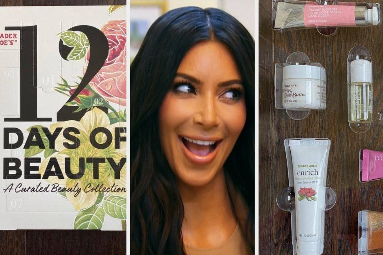 Everything You Need To Know About Trader Joe's Beauty And Skincare Advent Calendar