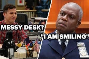 Messy desk? i am smiling
