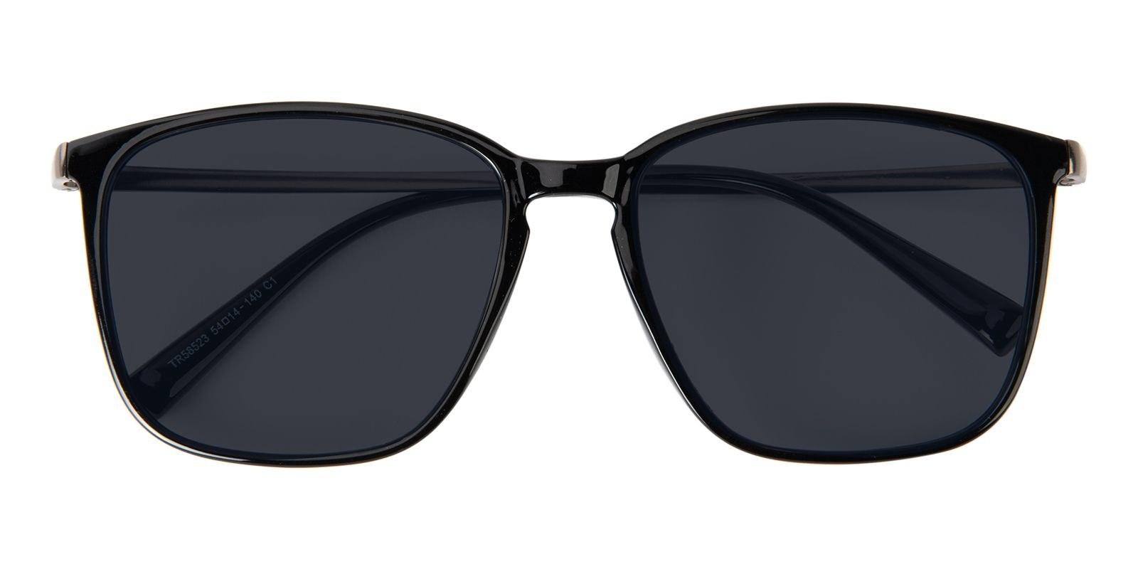Pair of black sunglasses