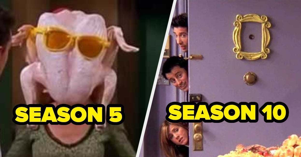 """You'll Only Pass This """"Friends"""" Thanksgiving Episode Test If You've Watched The Show At Least Three Times"""