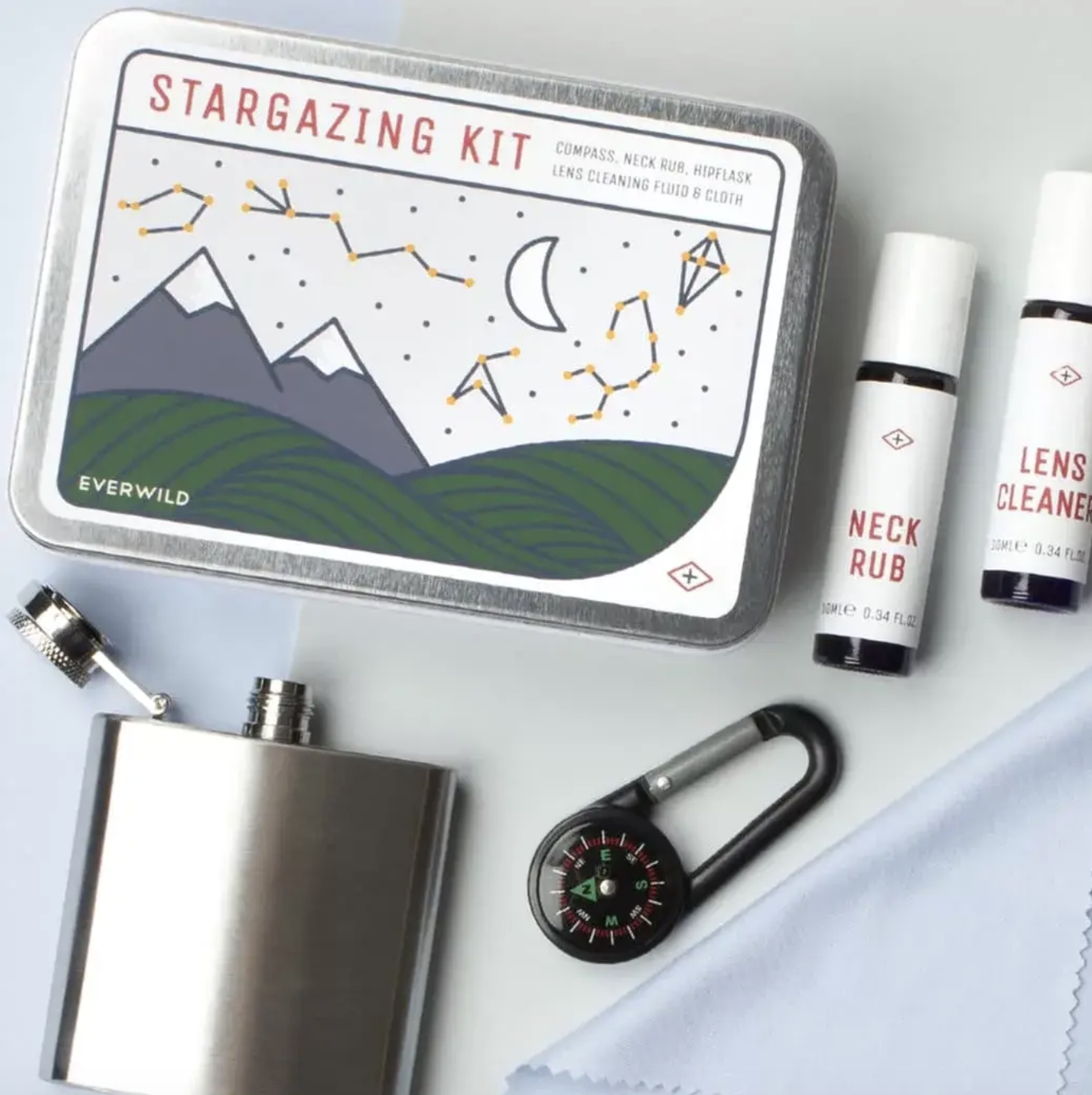 The stargazing kit.