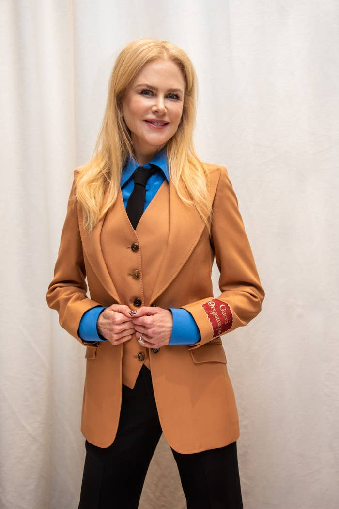 """Nicole Kidman at """"The Undoing"""" Press Conference at the Four Seasons Hotel on March 09, 2020 in Beverly Hills, California"""