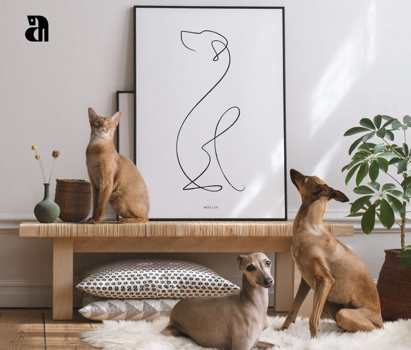 Animalist pet poster