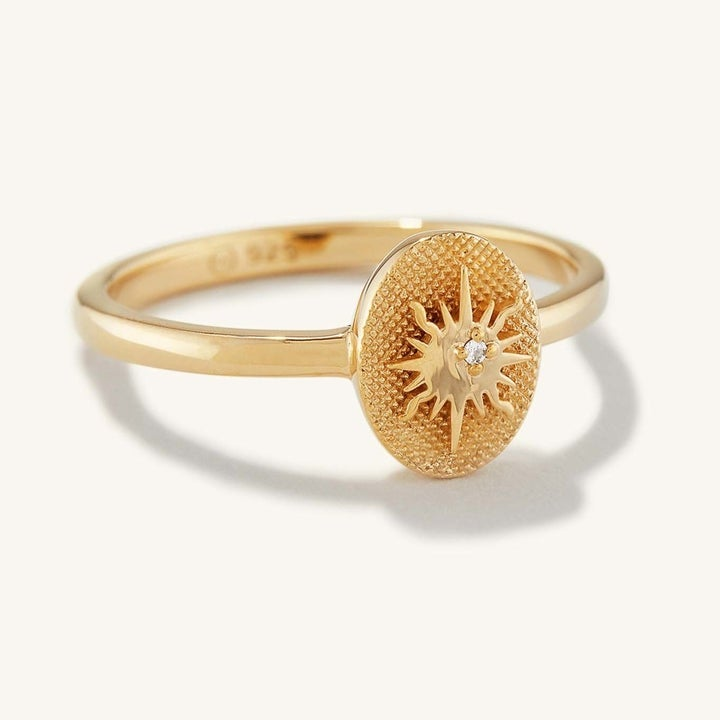 the yellow gold ring
