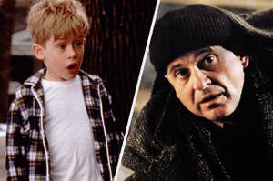 Kevin and Harry from Home Alone