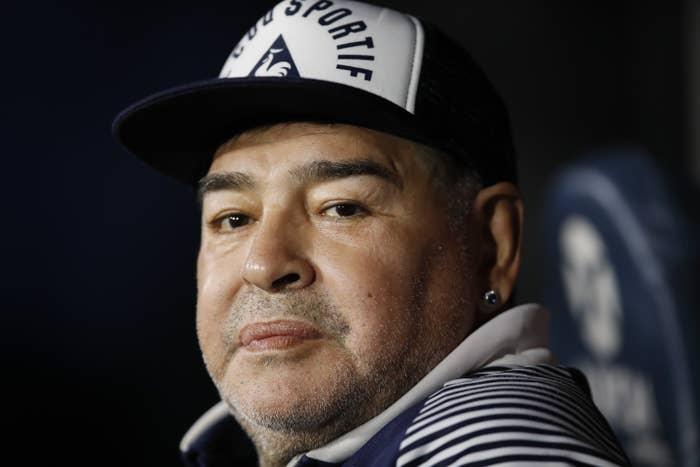Diego Maradona Died Aged 60