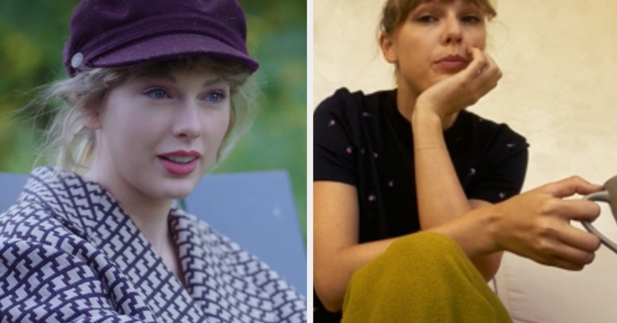 """Taylor Swift's """"Folklore"""" Film Unveils The Creative Process Behind The Mystifying Album"""