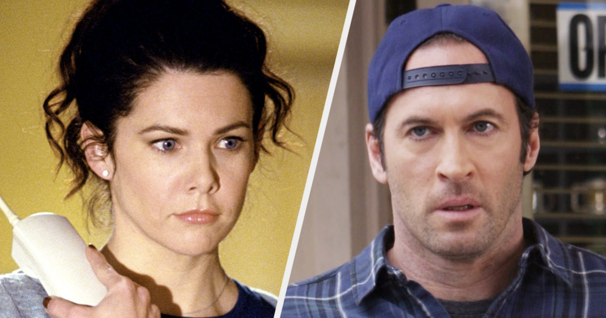 """Lauren Graham And Scott Patterson Had To Quit Smoking So They Could Keep Up With The Super Fast Dialogue On """"Gilmore Girls"""""""
