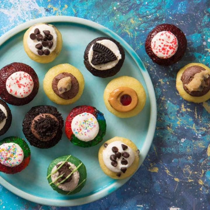 assorted cupcake