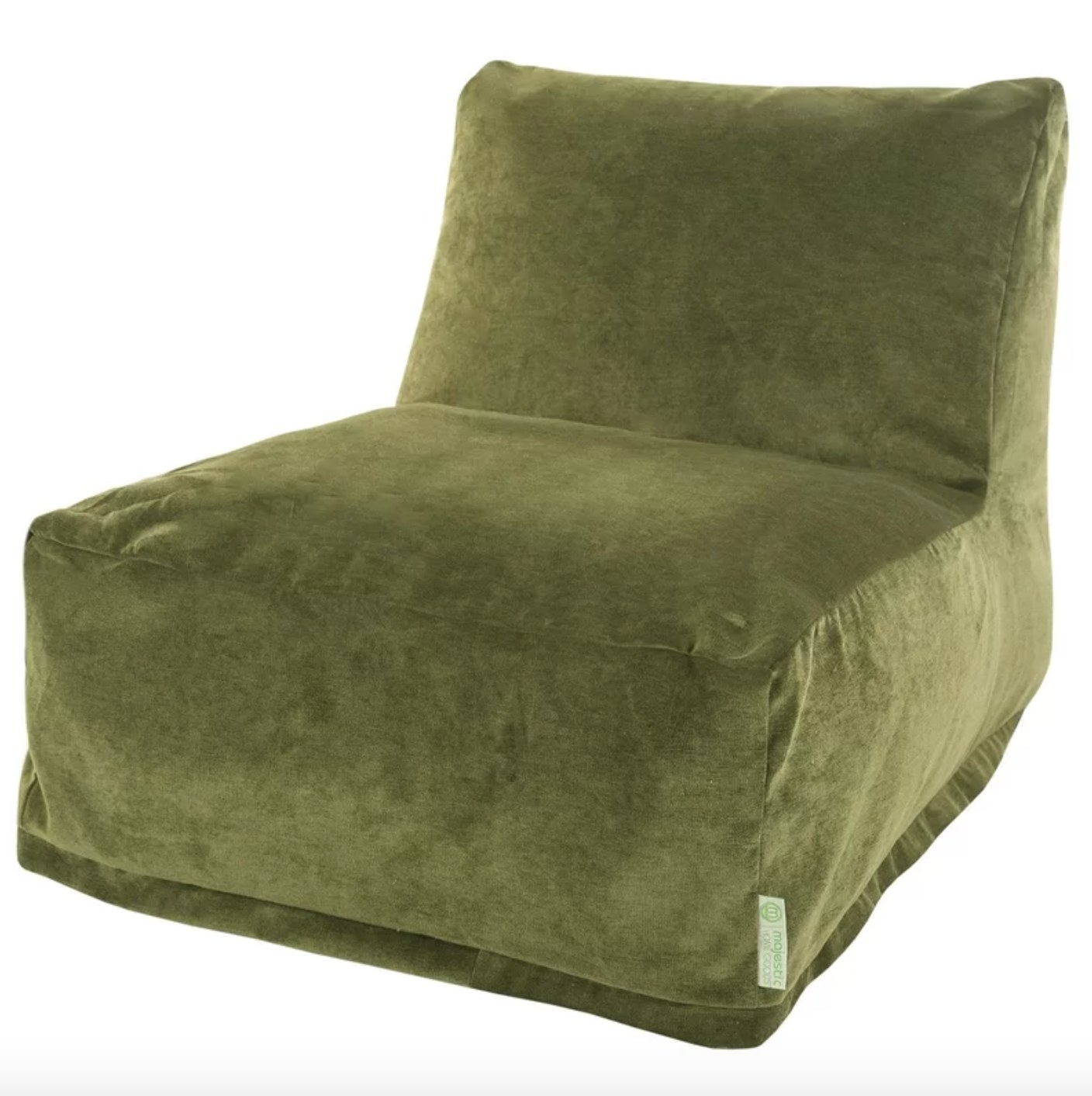 The standard bean bag chair in fern