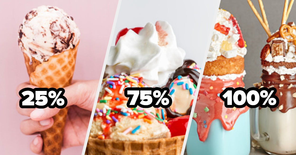 How Extreme Is Your Sweet Tooth?
