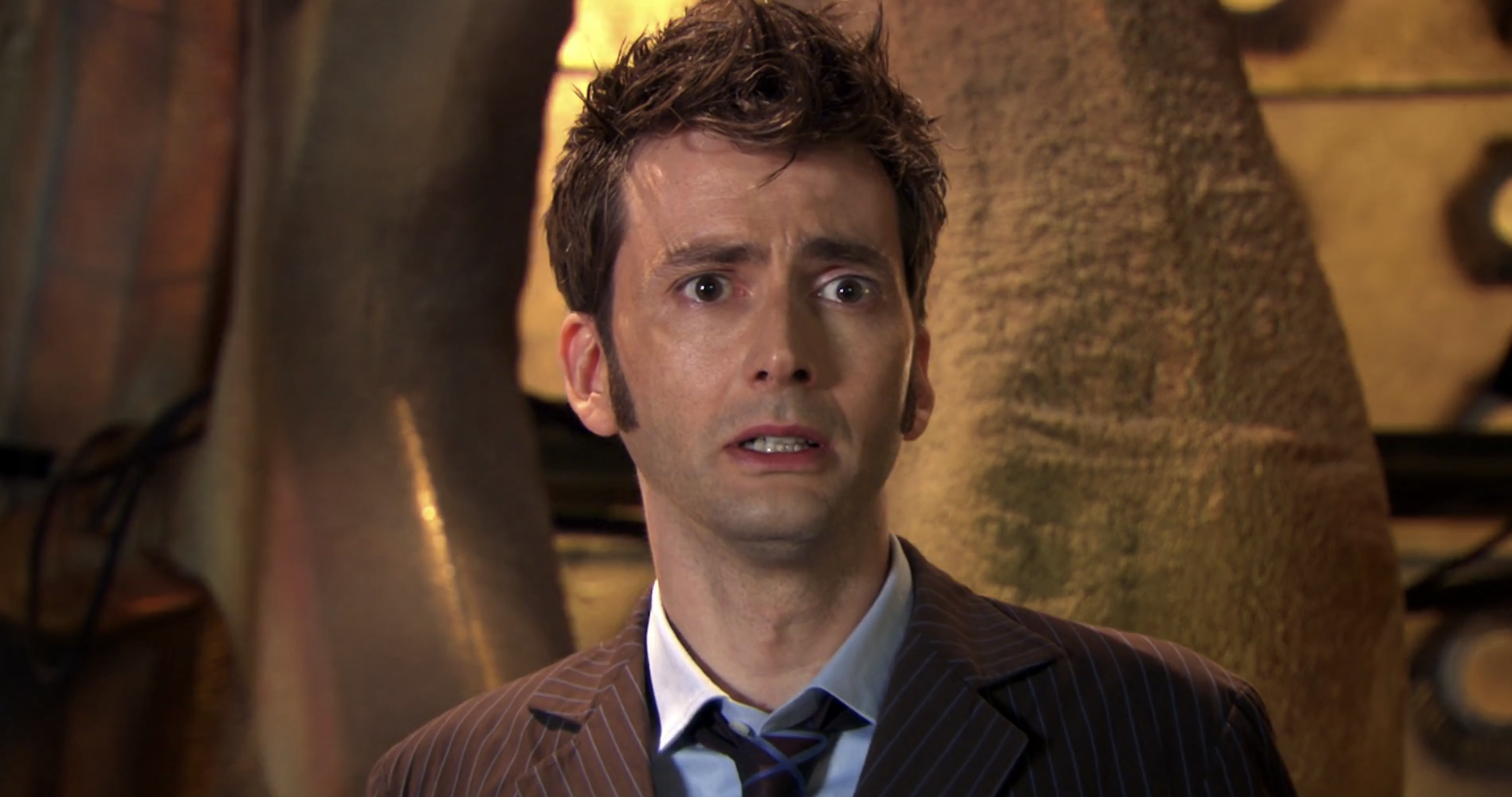 David Tennant as the Doctor in his final episode