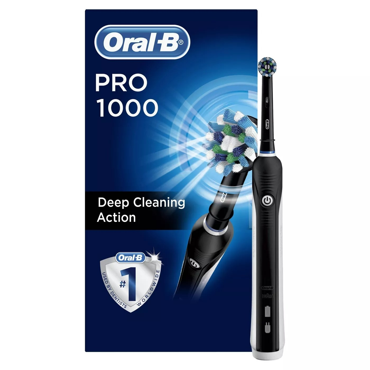 Oral-B Pro 1000 with deep cleaning action