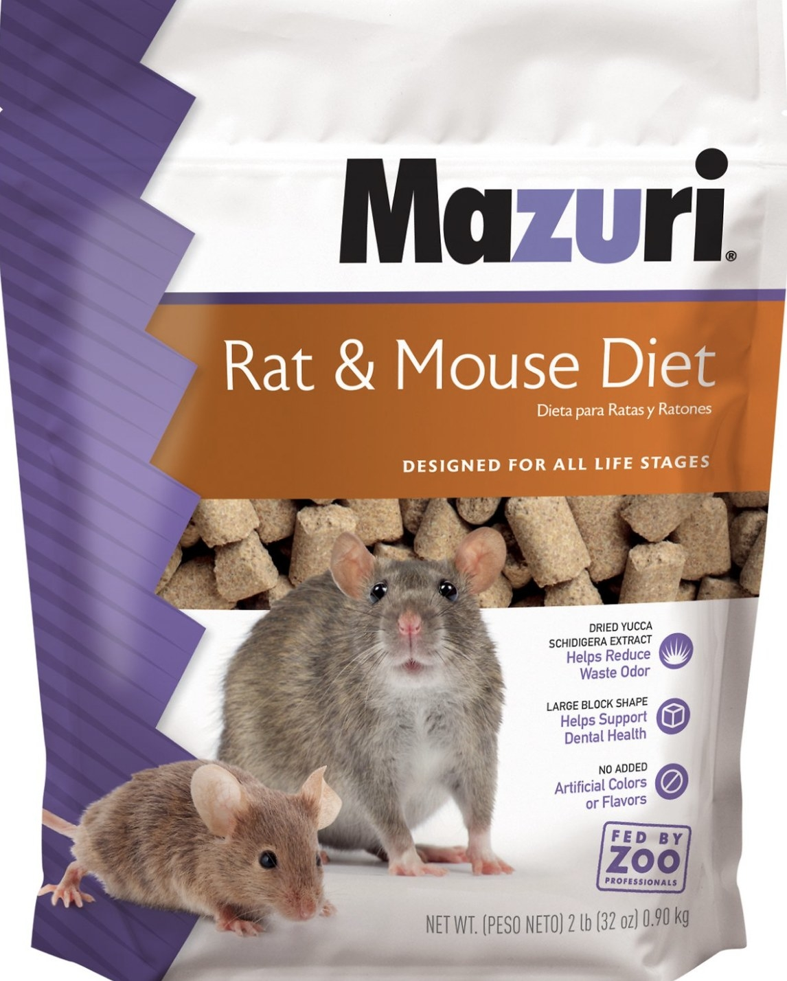 The bag of mouse and rat food
