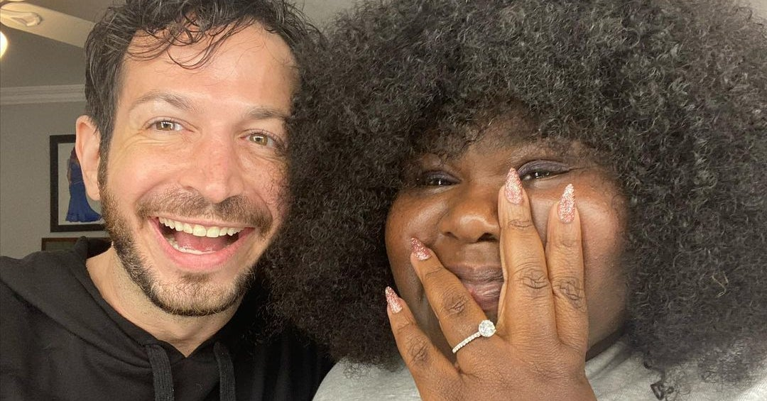 If You Don't Gush Over Gabby Sidibe And Brandon Frankel's Engagement Announcements, Then Your Heart Is Stone Cold