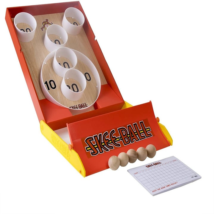 the Skee-ball game