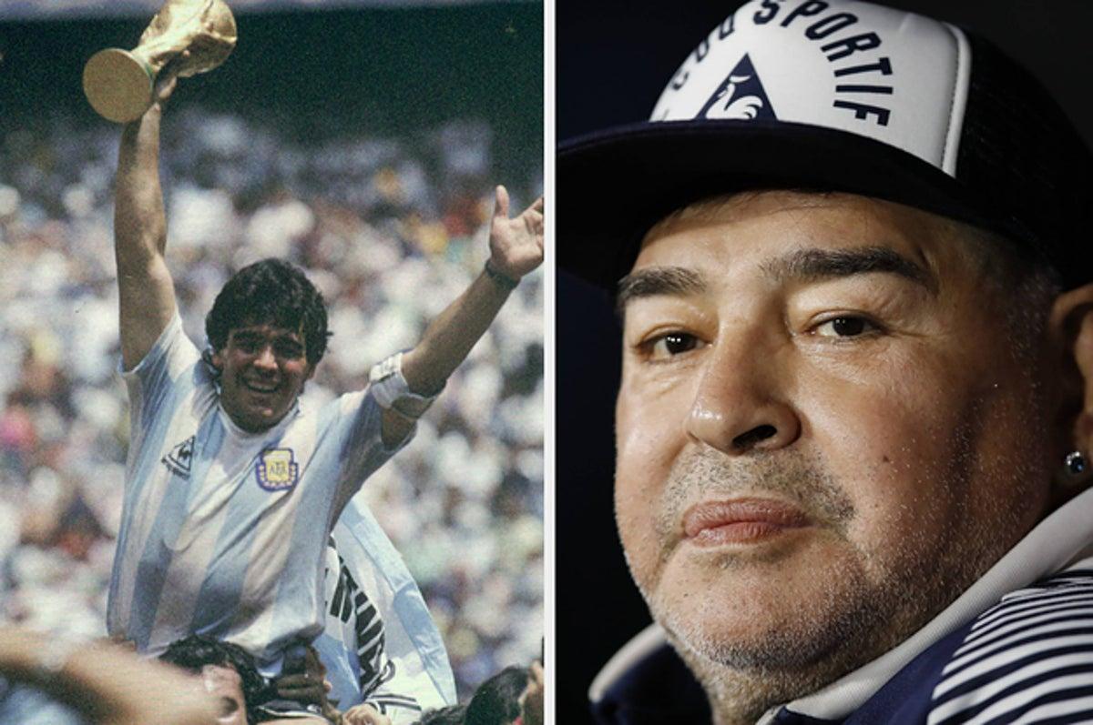 Soccer Legend Diego Maradona Has Died At Age 60